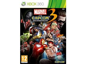 XBOX 360 Marvel vs Capcom 3