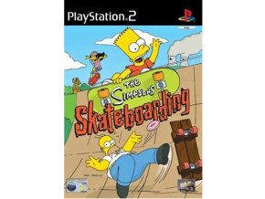 PS2 The Simpsons Skateboarding
