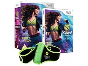Wii Zumba Fitness 2 + cvičební pás
