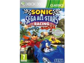 XBOX 360 Sonic and SEGA All-Stars Racing with Banjoo-Kazooie