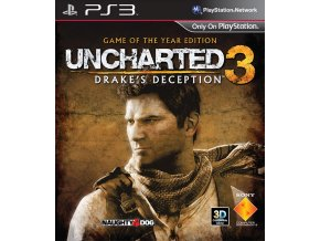 PS3 Uncharted 3 : Drakes Deception GOTY