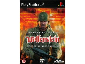 PS2 Return to Castle Wolfenstein Operation Resurrection