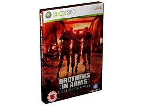XBOX 360 Brothers in arms: hell's highway Steelbook edition