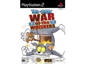 PS2 Tom And Jerry : War Of The Whiskers