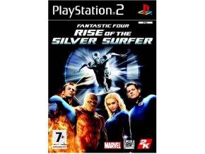 PS2 Fantastic Four: The Rise of The Silver Surfer