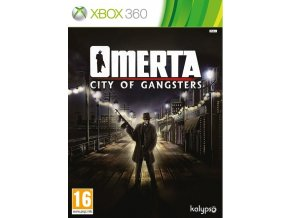 XBOX 360 Omerta - City of Gangsters