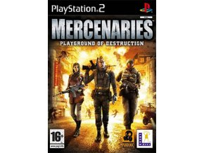 PS2  Mercenaries Playground of Destruction