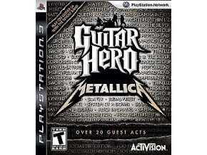 PS3 Guitar Hero Metallica