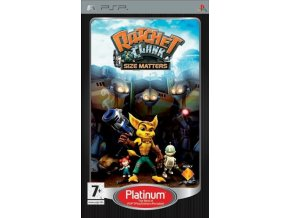 PSP Ratchet & Clank: Size Matters - Platinum Edition