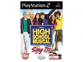 PS2 High School Musical: Sing It!