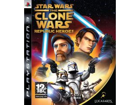 PS3 Star Wars: The Clone Wars - Republic Heroes