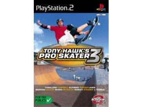 PS2 Tony Hawk´s Pro Skater 3
