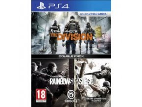 PS4 Tom Clancys Rainbow Six Siege + Tom Clancys The Division CZ (nová)