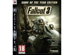 PS3 Fallout 3: Game of the Year Edition