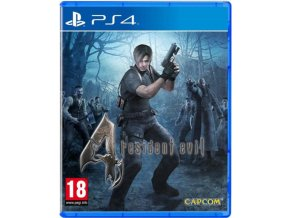 PS4 Resident Evil 4 HD (nová)