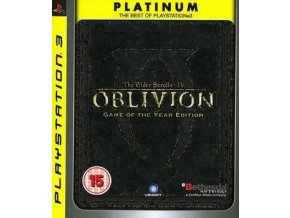PS3 The Elder Scrolls IV: Oblivion GOTY