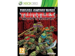 XBOX 360 Teenage Mutant Ninja Turtles: Mutants in Manhattan