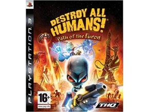 PS3 Destroy All Humans: Path of the Furon