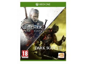 XBOX ONE Dark Souls 3 + The Witcher 3 Wild Hunt