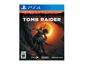 PS4 Shadow of the Tomb Raider Steelbook edice
