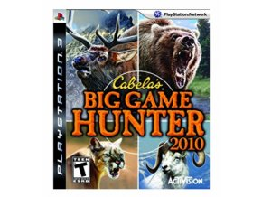 PS3 Cabela's Big Game Hunter 2010