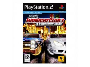 PS2 Midnight Club 3 Dub Edition