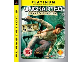 PS3 Uncharted: Drake's Fortune platinum