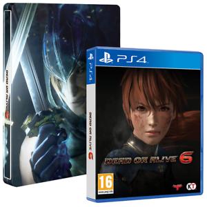 PS4 Dead or Alive 6 - Steel Book Edition (nová)