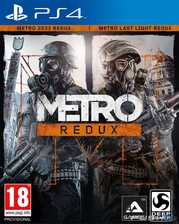 PS4 Metro Redux CZ (nová)