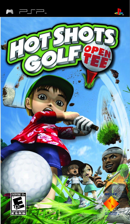PSP Hot Shots Golf Open Tee