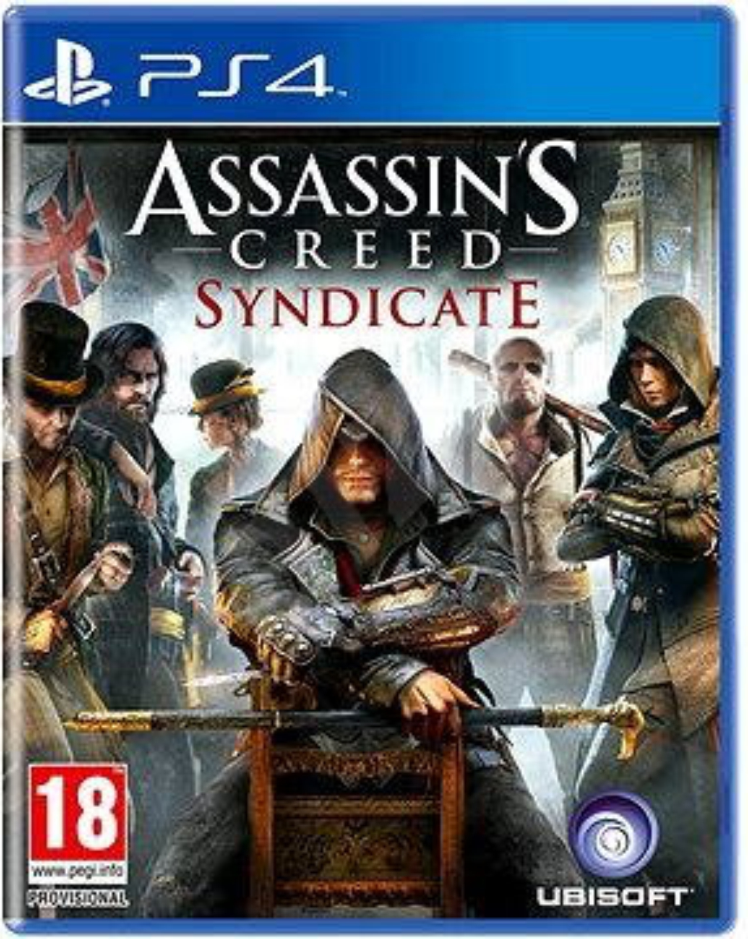 PS4 Assassins Creed: Syndicate CZ
