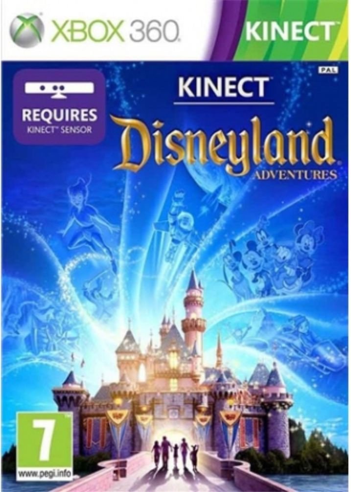 XBOX 360 Kinect Disneyland Adventures (nová)