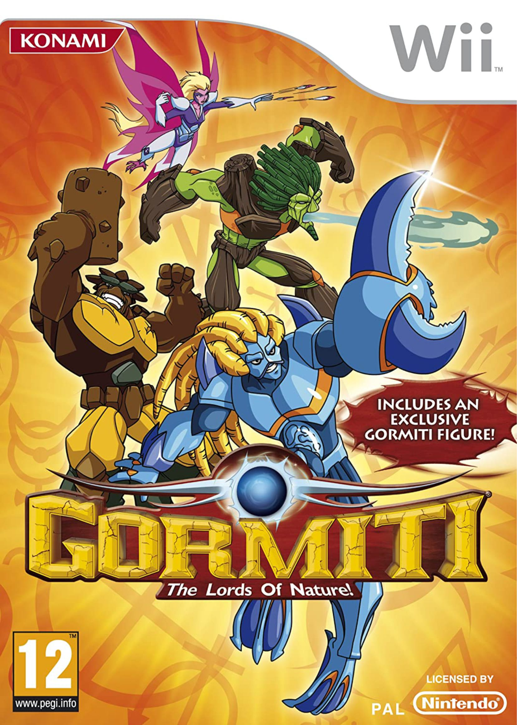 Wii Gormiti: The Lords of Nature!
