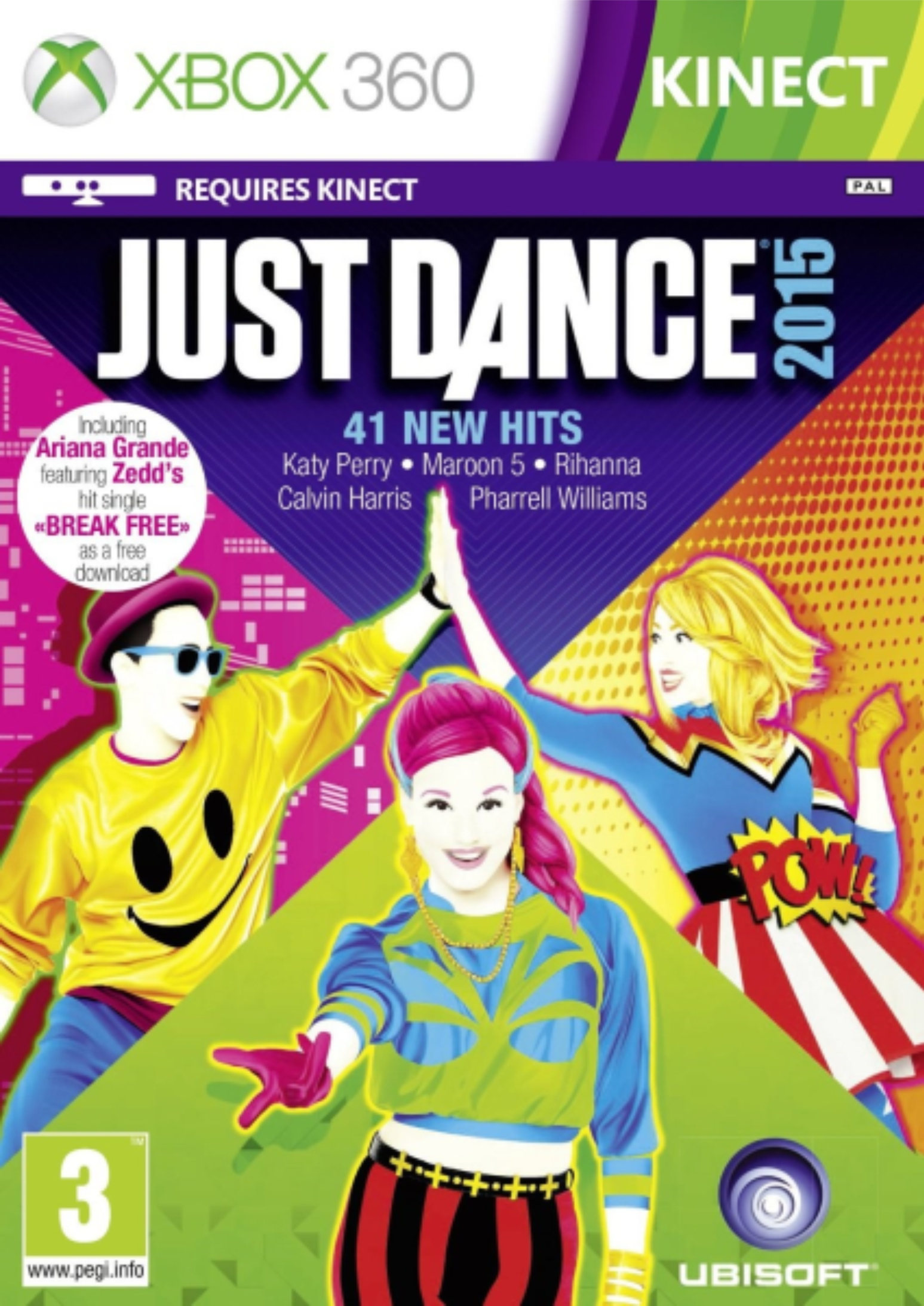 XBOX 360 Just Dance 2015