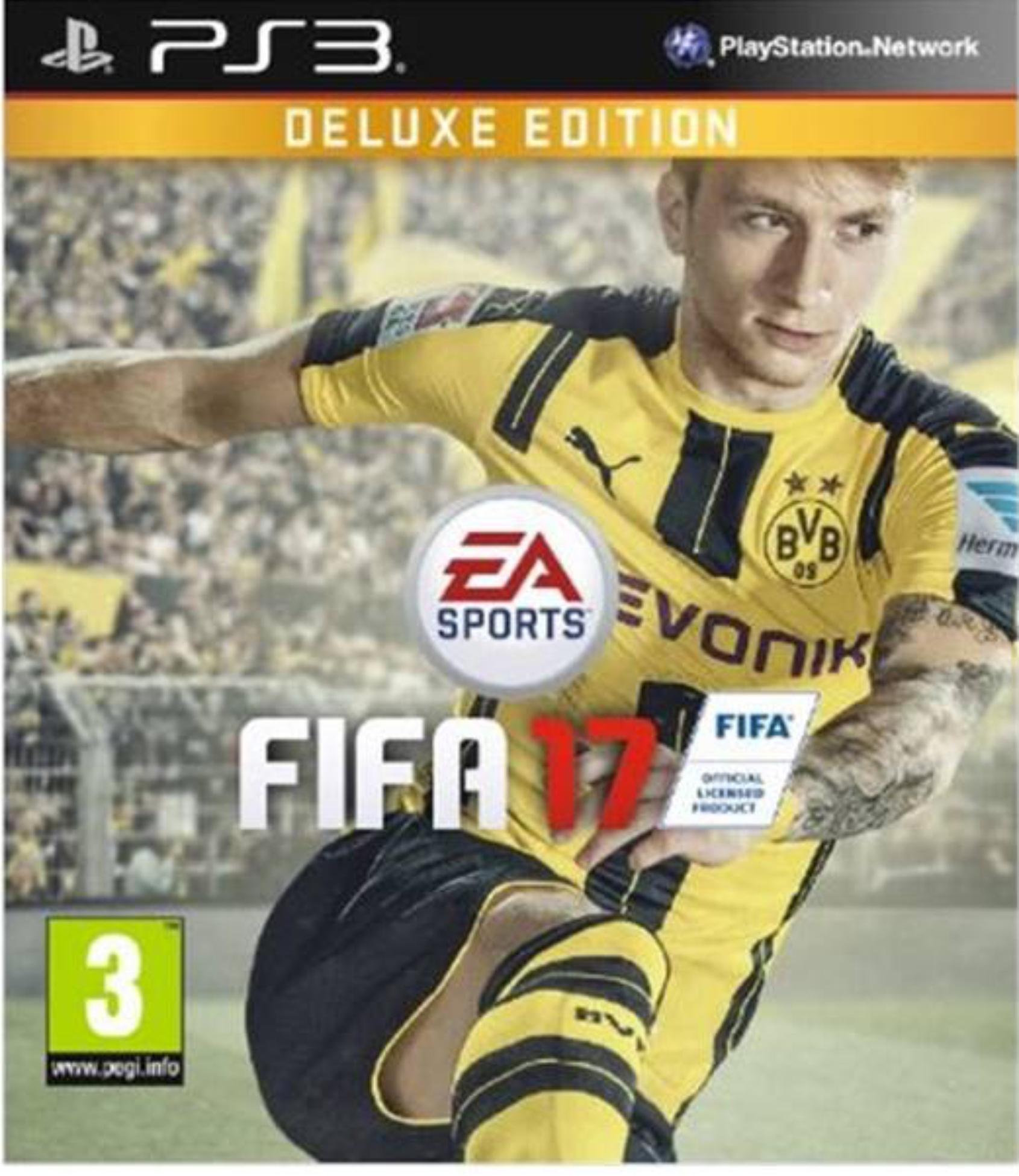 PS3 FIFA 17 Deluxe edition (nová)