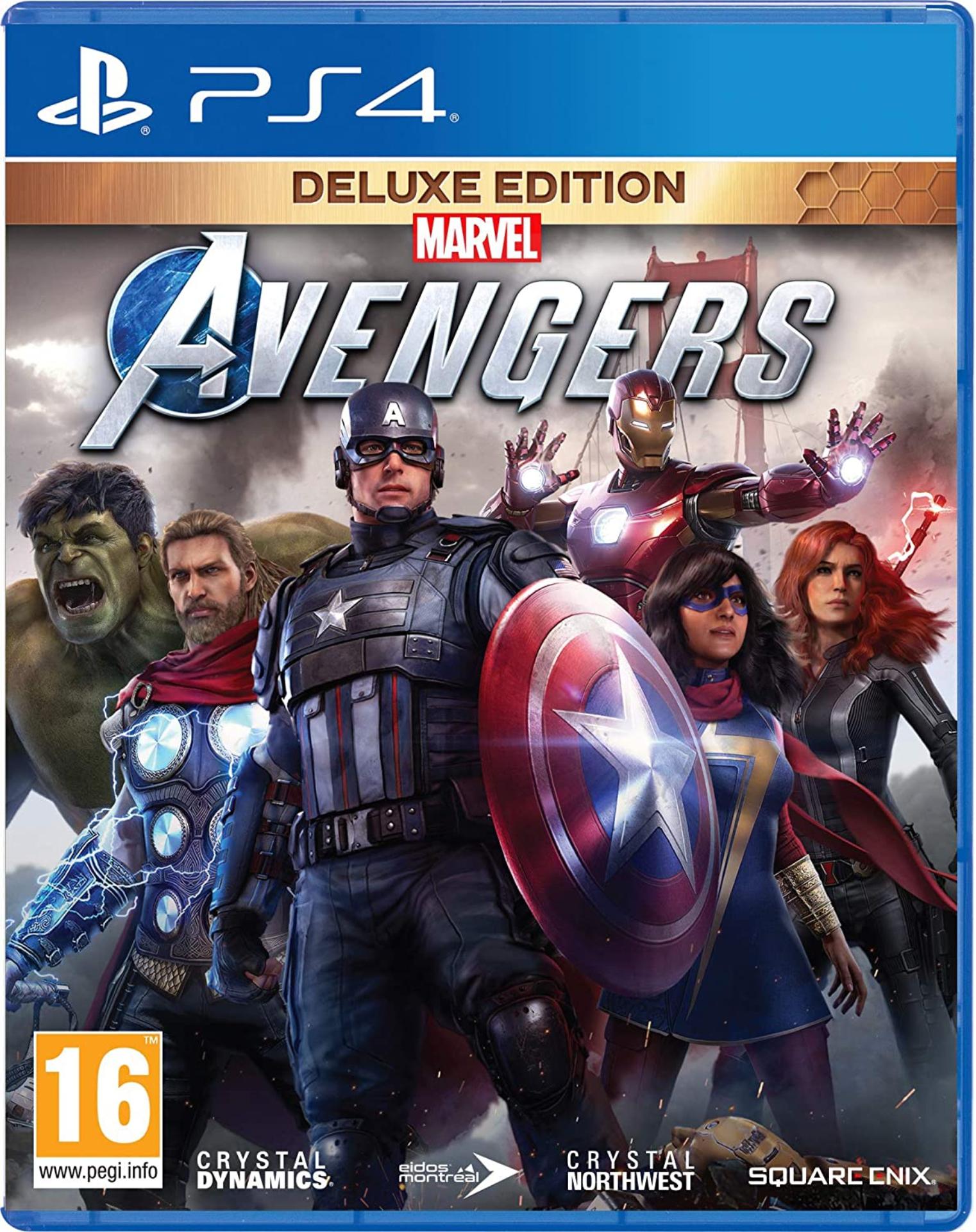 PS4 Marvel's Avengers - Deluxe Edition CZ (nová)