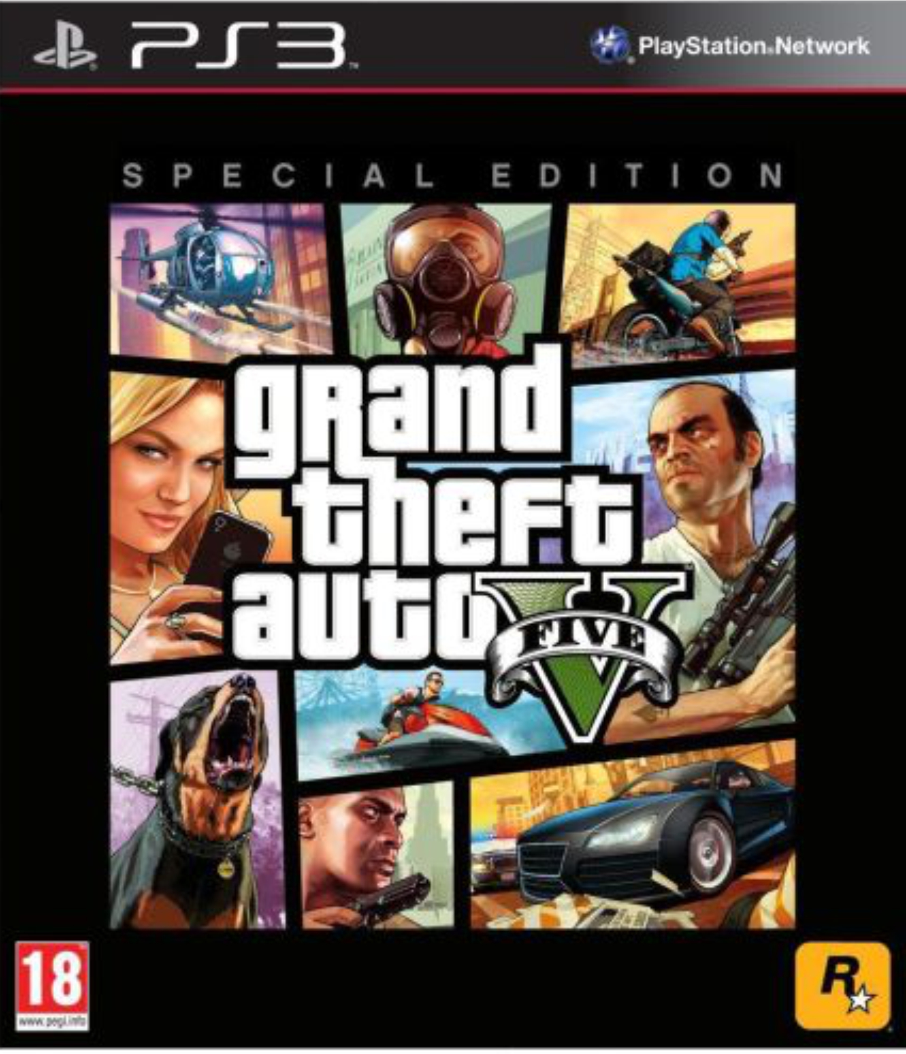 PS3 Grand Theft Auto V (5) Special edition