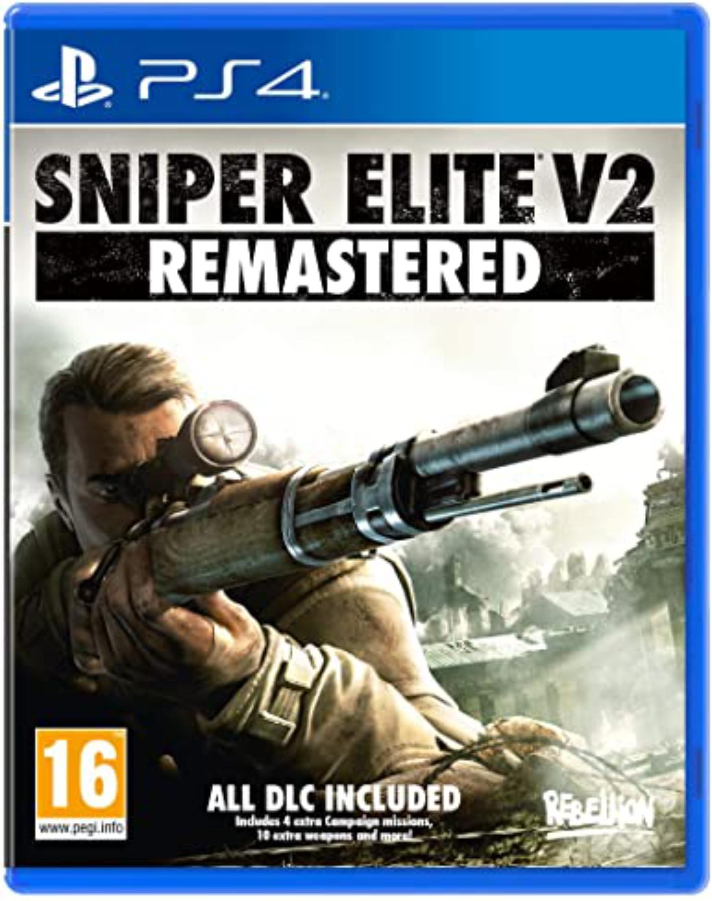 PS4 Sniper Elite V2 - Remastered (nová)