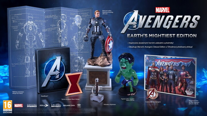 PS4 Marvel's Avengers CZ Earths Mightiest Edition (nová)