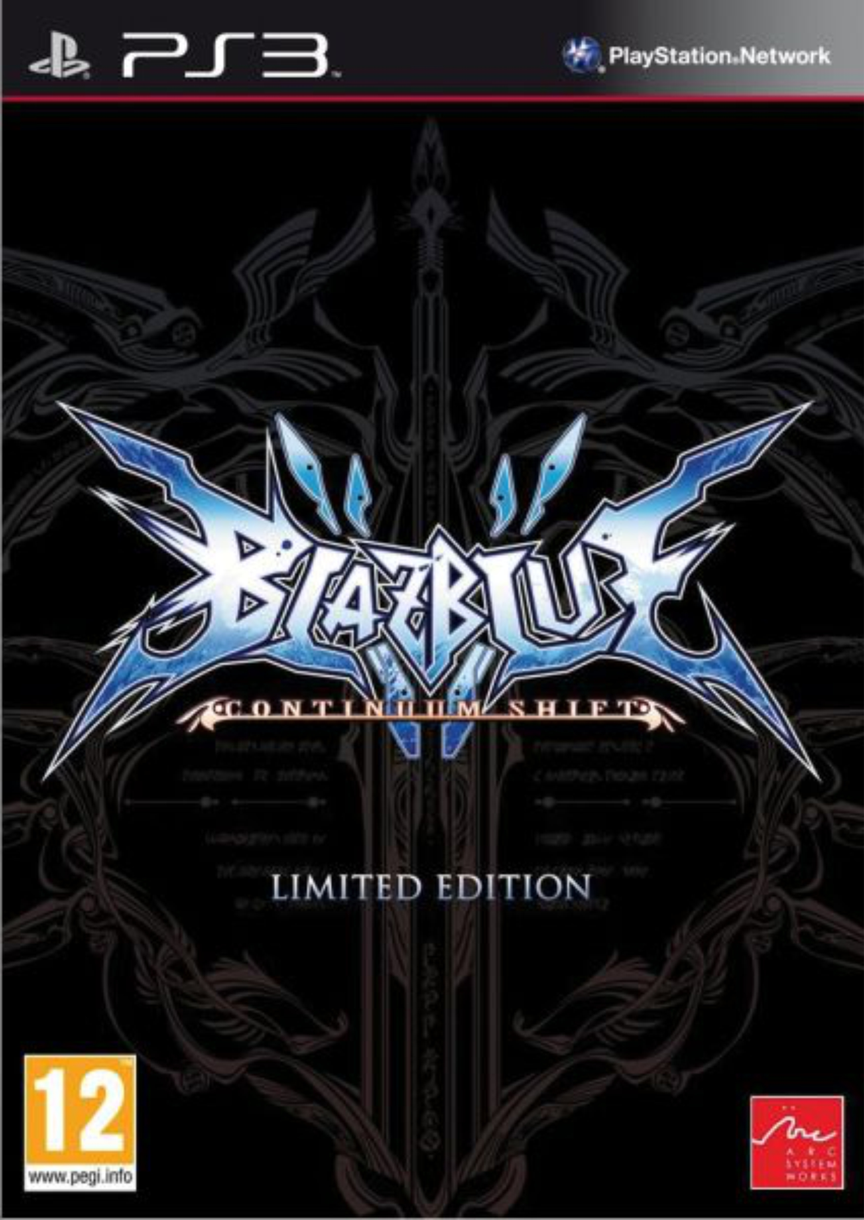 PS3 BlazBlue: Continuum Shift - Limited Edition