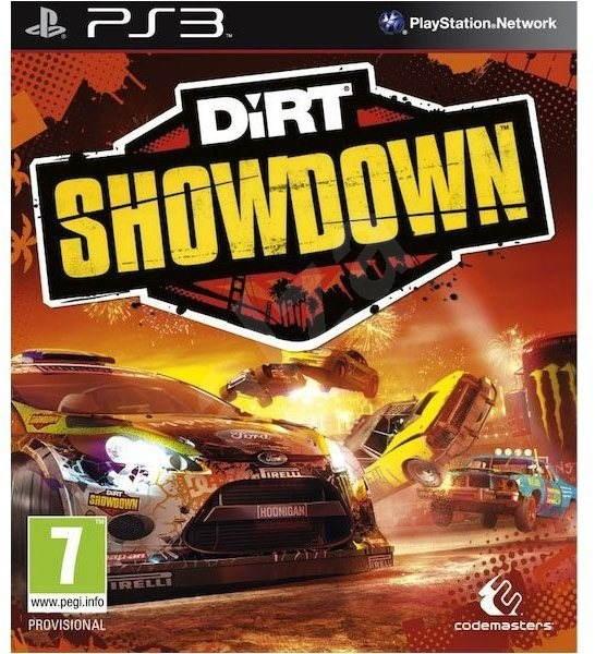 PS3 Dirt Showdown Obal: Anglický