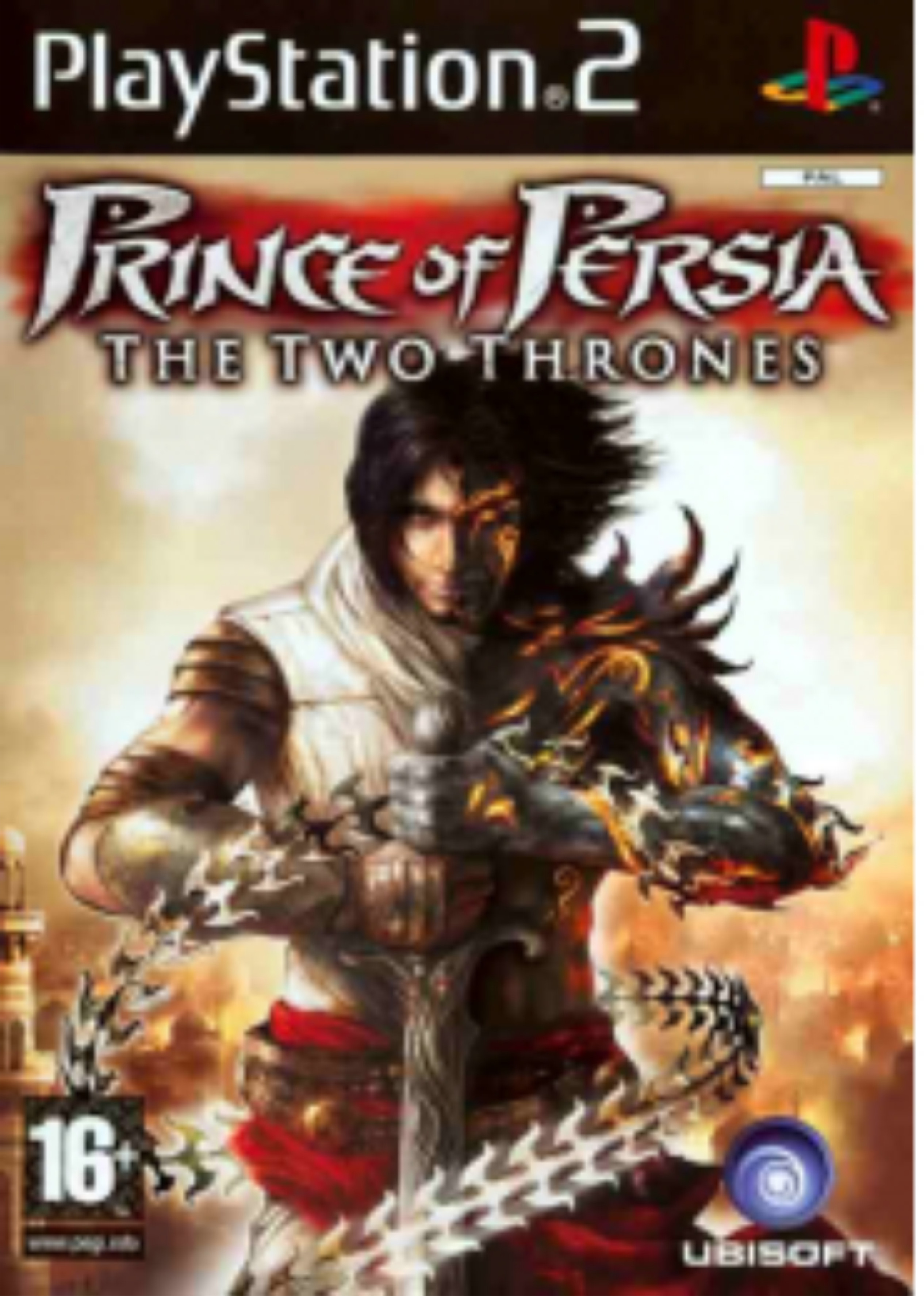 PS2 Prince of Persia: Two Thrones