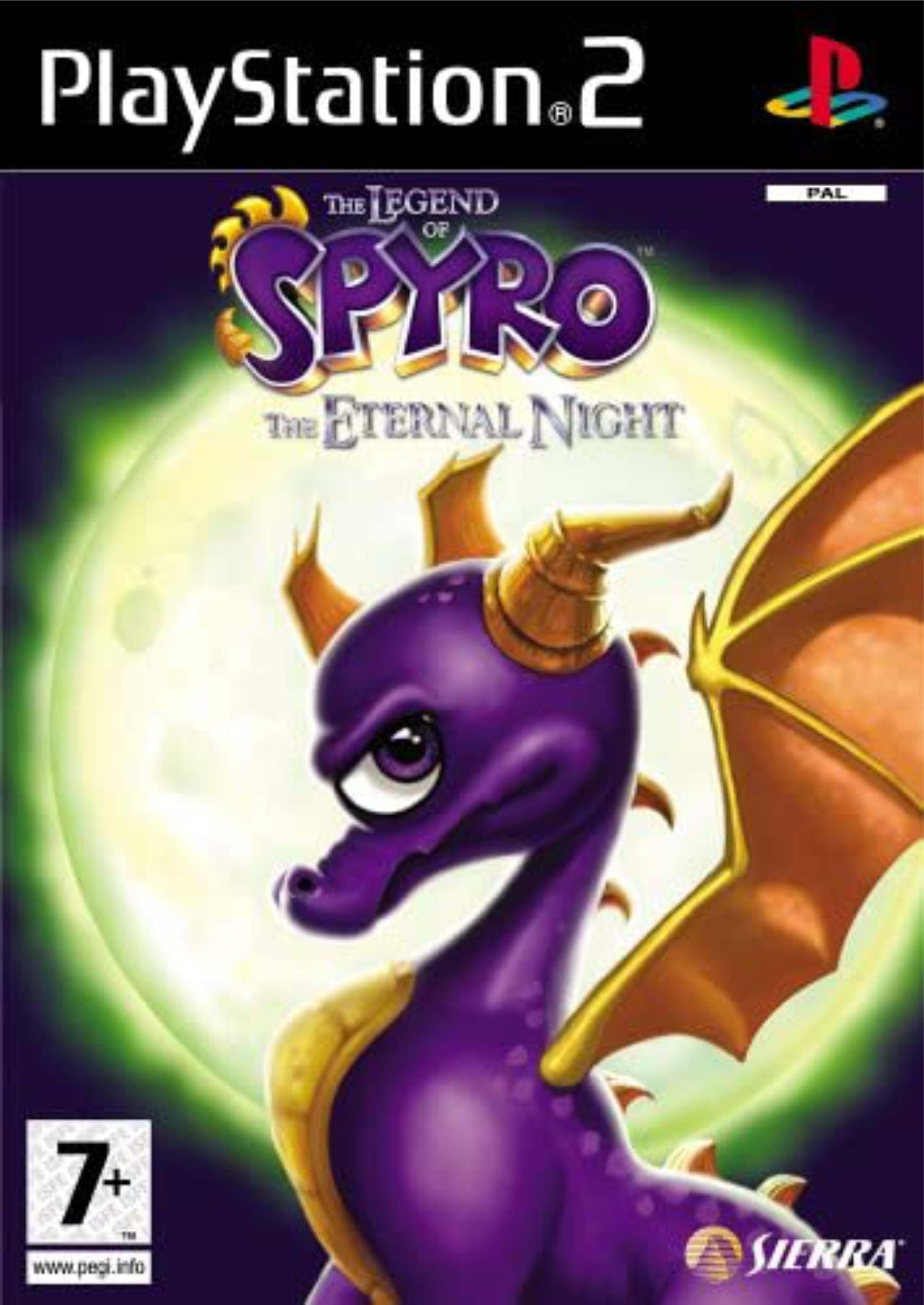 PS2 The Legend of Spyro: The Eternal Night