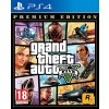 PS4 Grand Theft Auto 5 (GTA V) Premium Online Edition