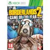 XBOX 360 Borderlands 2 Game of the Year Edition