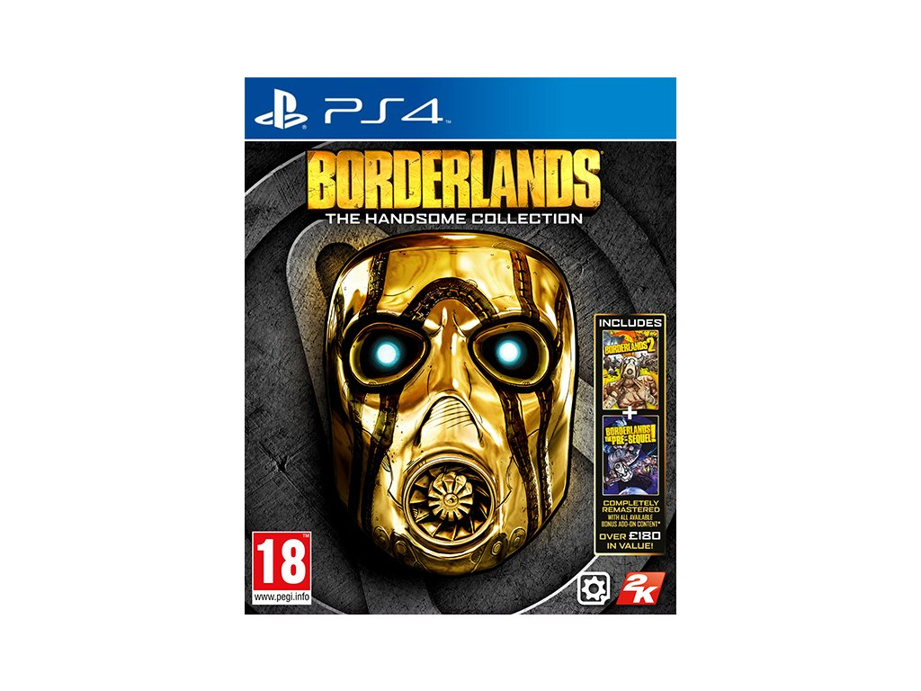 borderland handsome collect ps4