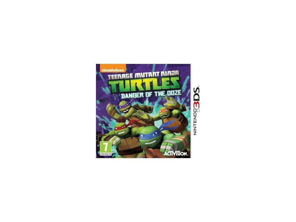 Teenage Mutant Ninja Turtles:Danger of Ooze  3DS