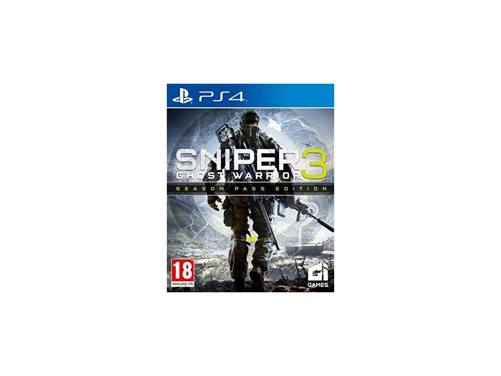Sniper Ghost Warrior 3 Season Pass Edition  PS4 + dárek