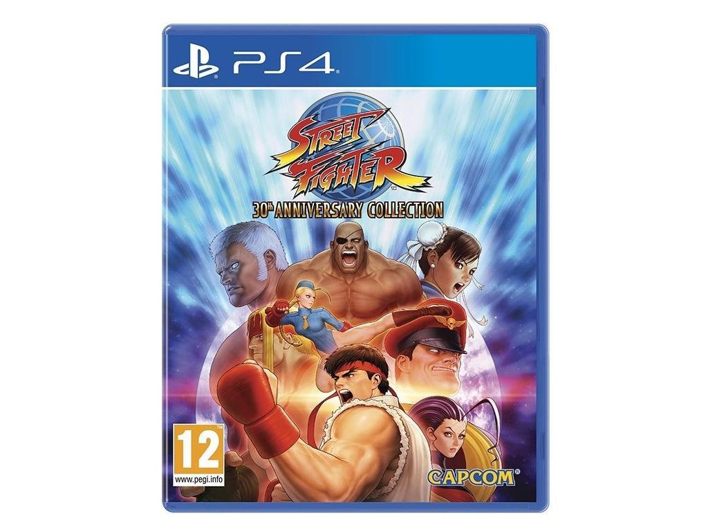 Street Fighter (30th Anniversary Collection) PS4