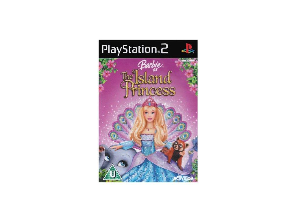 barbie island princess ps2